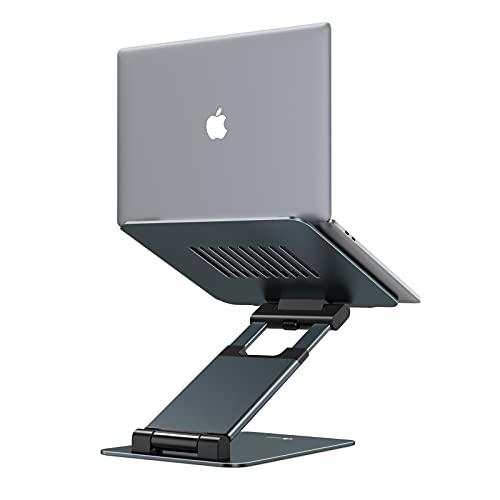 """Tounee Laptop Ständer, Ergonomisch Notebook Ständer, Laptop Halterung Höhenverstellbar von 2.1""""zu 21"""