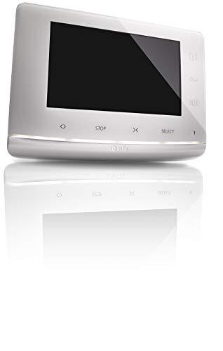 Somfy 2401548 - Monitor Videoportero V300, Videoportero 2 Hilos, con Captura de Imagen, Control de 5 Canales RTS para persianas Somfy