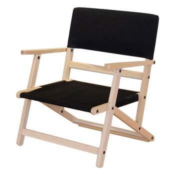 ツボフジ Assemble Chair S ブラック 家具職人が作った ガーデンチェア TF-AC002