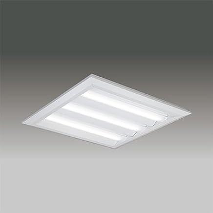 東芝 LEDベースライト TENQOOスクエア LEDバータイプ FHP45形×3灯用器具相当 温白色 直付埋込兼用形 下面開放タイプ 埋込穴□690mm AC100V~242V 専用調光器対応 LEDバー付 LEKT770902WW-LD9