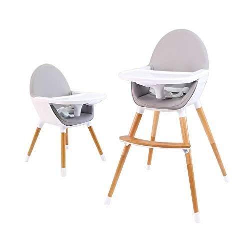 YDHYYDQCFJL Baby Hoge Stoel - Baby Eetstoel Baby Kinderstoel Houten Verstelbare Hoogte Junior Stoel Voeding Stoel Eetstoel