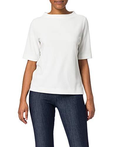 ESPRIT Strukturiertes Kurzarm-Sweatshirt