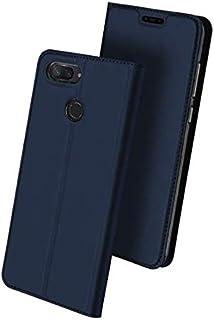 DUX DUCIS Xiaomi Mi 8 lite leather case flip card holder phone shell anti fall protective sleeve 2018 blue
