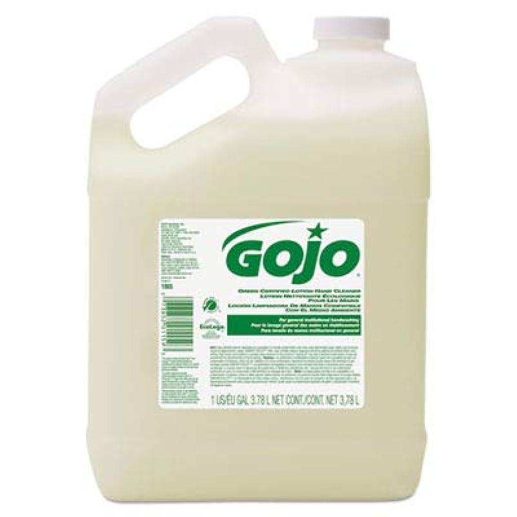 政策ハッチ原点goj186504?–?グリーン認定ローションハンドクリーナー、1ガロンボトル、花柄香り