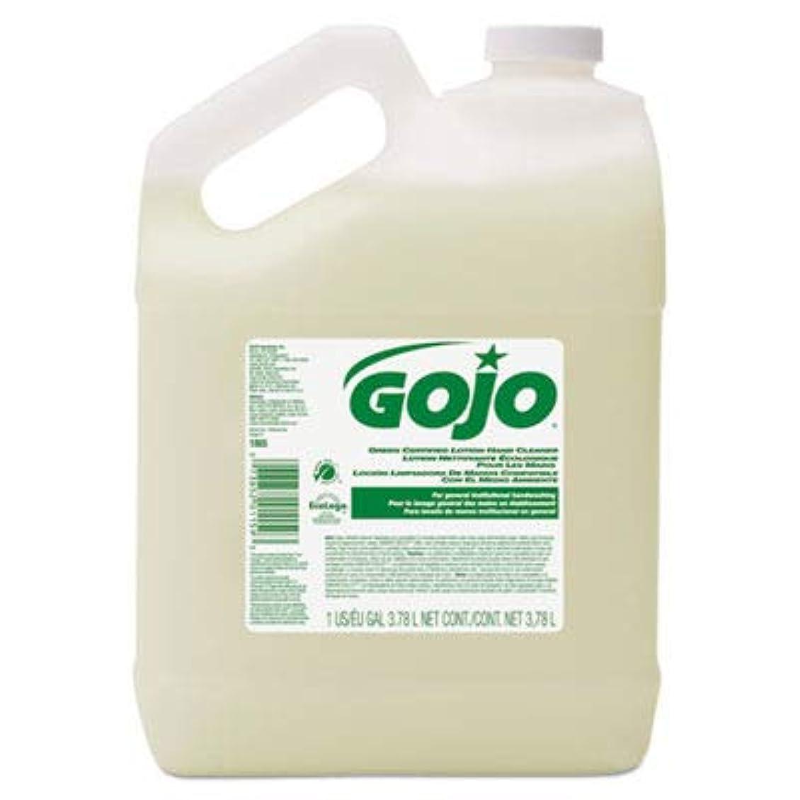 絶壁そして大臣goj186504?–?グリーン認定ローションハンドクリーナー、1ガロンボトル、花柄香り