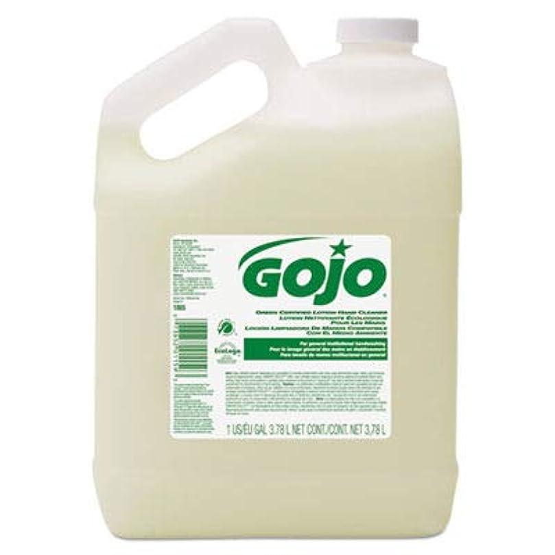 回路規定作業goj186504?–?グリーン認定ローションハンドクリーナー、1ガロンボトル、花柄香り
