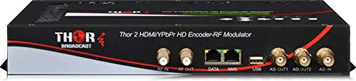 HDMI Cable TV QAM Modulator & IPTV Server 2 Channel