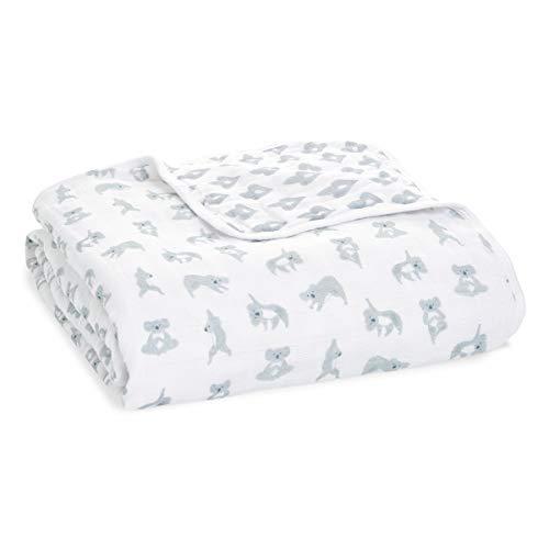 aden + anais™ Dream Blanket Now + Zen - Manta de Muselina de algodón (120 x 120 cm, 100% algodón)