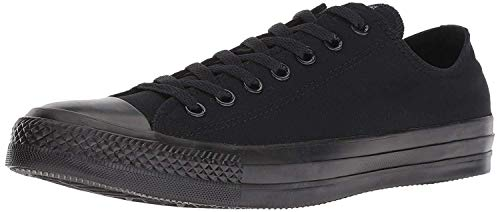 Converse Chuck Taylor all Star Low Black Canvas Trainers-UK 6