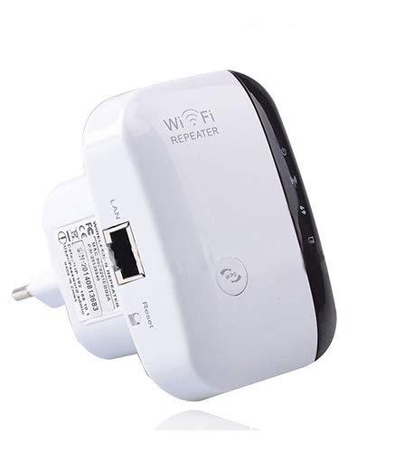 ZEPHYR Ripetitore WiFi, Wireless 300Mbps/ 2.4GHz WiFi Extender e Access Point Potenzia la Tua Copertura Wi-Fi Compatibile con Tutti i Modem Router WiFi (Bianca)