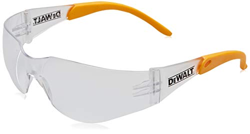 Dewalt Protector Clear Protective Safety Glasses with Wraparound Frame $2.99