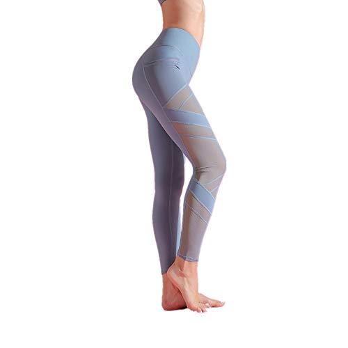 Moda Pantaloncini Yoga Gamba Larga e Doppie Punte Pantaloni Lunghi Vita Alta con Gamba Donna Harem Larghi Hip Hop Lunghi Pantaloni Estivi Ragazza alla Jogging Sportivi