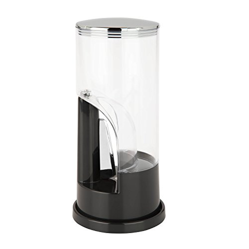 Zevro Indispensable 1/2-Pound-Capacity Coffee Dispenser, Black