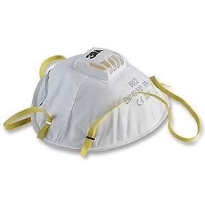 313b8anYXjL. SL500 . SS300  - 3M Respirador Desechable 8812, FFP1 NR D, con Válvula, Certificado de Seguridad EN, Paquete de 10