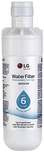 LG Water Filter LT1000P For Refrigerator - LT1000P LG Refrigerator Water Filter - LG Water Filter ADQ747935-1 Pack
