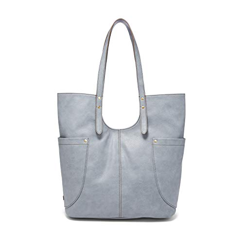 Relic by Fossil Women's Emiline Tote Handbag, Color: Dusty Blue Model: (RLH0907849)