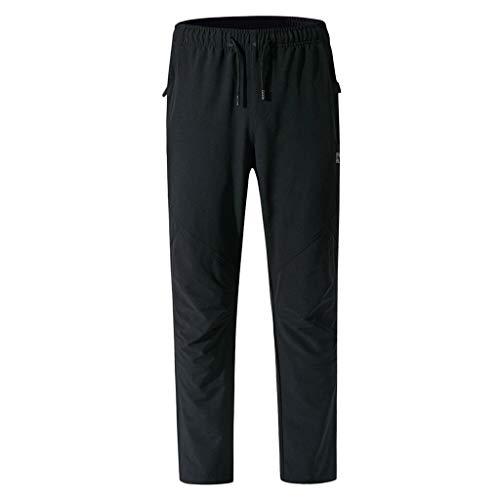 Mannen raster potlood vrije tijd jogger Cargo chino jeans broek elastische heupband met zakken geruit koordsluiting elastische taille lange broek broek Medium bruin