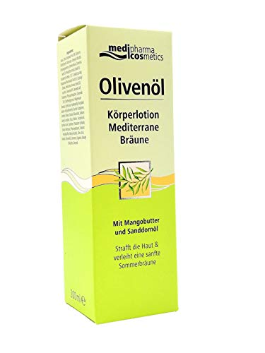 OLIVENOEL KOERPERLOTION Mediterrane Braeune, 200 ml