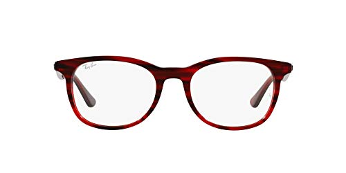 Ray-Ban 0RX5356 Gafas, STRIPED RED, 54 Unisex Adulto