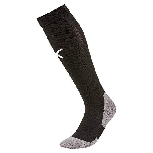 Puma Team Liga Socks Core, Calzettoni Calcio Unisex-Adulto, Nero (Black/White), 3