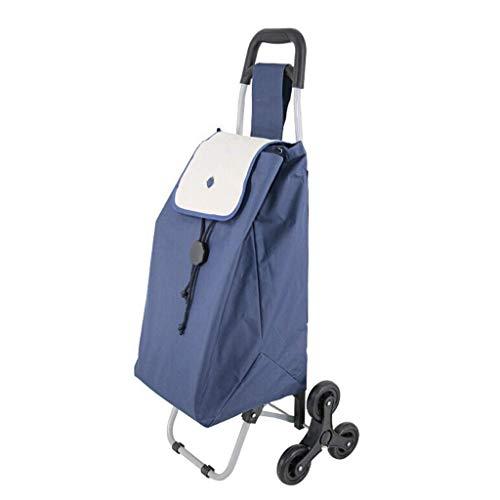 ZLININ Y-longhair Carrito de la compra carrito de equipaje, carro de la compra, tela Oxford desmontable, tamaño: 34 x 97 cm.
