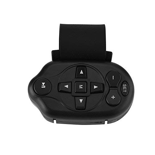 Mavis Laven Bluetooth-Multimedia-Fernbedienung für das Lenkrad des Autos, kabellose Universal-Infrarot-Medientaste für das Auto CD DVD MP3 TV
