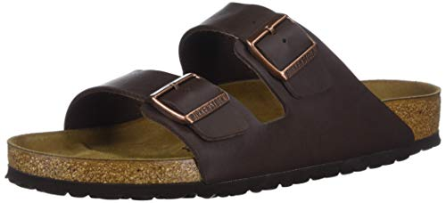BIRKENSTOCK Mens Arizona Habana Leather Sandals 43 EU