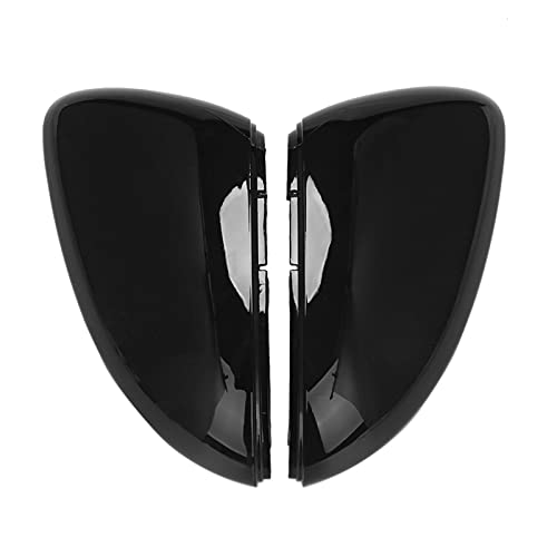 chenchen Funda para espejo de marcha atrás para accesorios de coche Golf 7 High Seven MK7 (color negro)