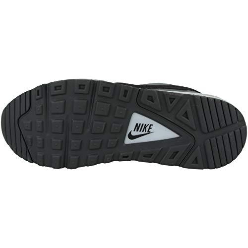 Nike Air MAX Command, Zapatilla de Correr Hombre, Gris Humo/Negro/Azul Hiper, 42.5 EU
