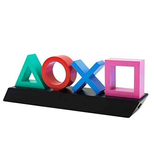 Playstation Z890845 PP4140PS Toetsenbord lamp met kleurwisselfunctie, meerkleurig Single 31 x 7 x 11 cm multicolor