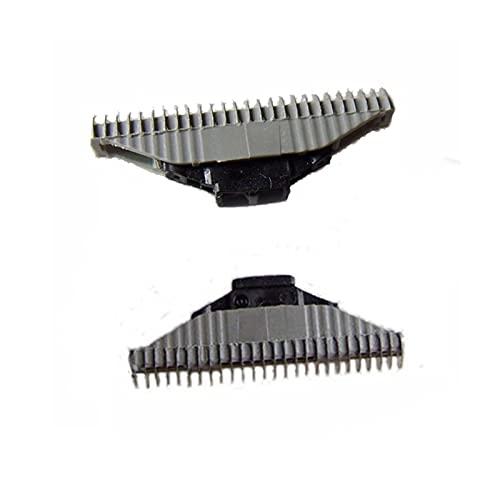 LEILEI Stlei Store 2pcs Cutter Cutter Barber Head Fit para Philips QC5550 QC5580 QS6140 QS6141 QS6160 QS6161 (Color : 2PC Gray)