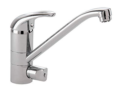 'aquaSu® 77200 6 Niederdruck Einhandmischer Concordia für Spüle mit Geräteanschluss