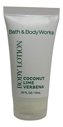 Bath & Body Works Coconut Lime Verbena Body Lotion. Lot of 30 each 0.55oz Bottles. Total of 16.5oz.