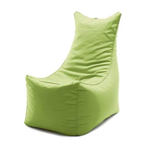 Möbel Akut Sitzsack XXL-Sitzkissen apfelgrün Cubic Seat grün Sitting Bull Indoor Wohnzimmer Garten Bodenkissen