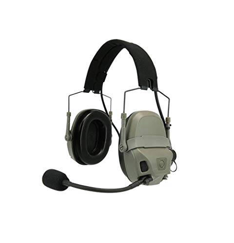 FMA FCS AMP Pickup Reducción de ruido Montaje en cabeza/carril para casco (FG)