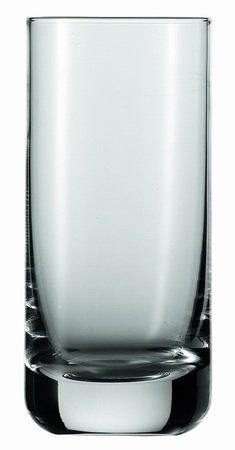 6x Juice/bierglas CONVENTIE inhoud 0,32 l drinkbeker, waterbeker