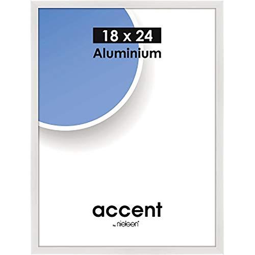 Nielsen Fotolijst 53439 Accent Glanzend Wit 18x24 cm