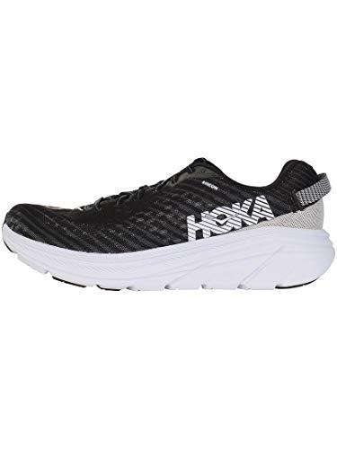 HOKA ONE ONE Rincon Men's 6 Running Shoes, Black/White, 11 US