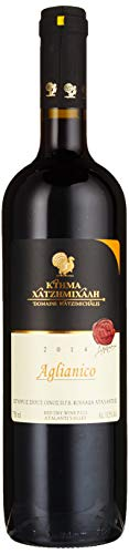 Domaine Hatzimichalis 2014 Aglianico Griechischer Trockener Rotwein 750ml Regular
