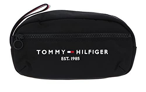 Tommy Hilfiger TH Established Washbag, Otros SLG para Hombre, Black, Medium