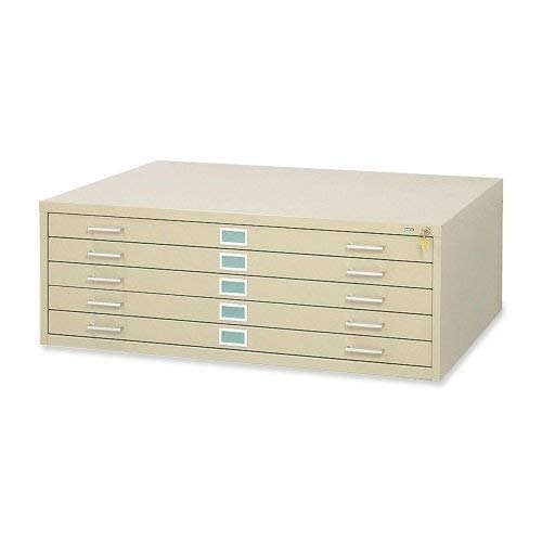 Safco Products-Flat-File Closed-Base for 5-Drawer 4996TSR, 10 Drawer 4986TS Files, sold separately, Tropic Sand