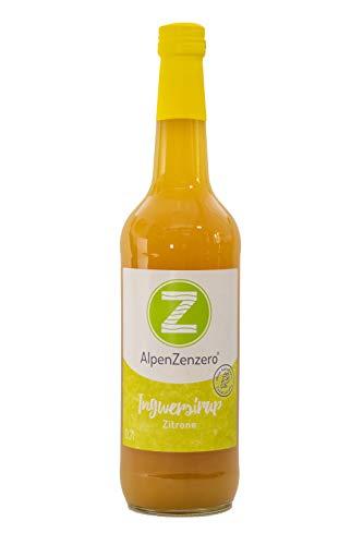 AlpenZenzero Igwersirup Zitrone, 700 ml
