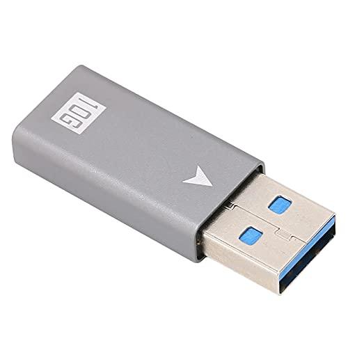 Adaptador USB C Hembra A USB Macho, Material De Aleación De Aluminio Integrado En El Chipset Inteligente VL160 Adaptador USB A A Tipo C De Alta Velocidad Para Dispositivos Tipo C Para
