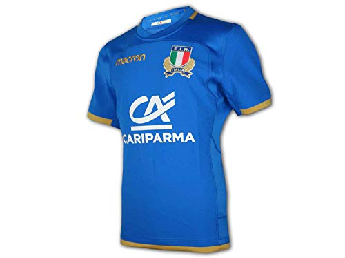 Maillot domicile authentique Italie Rugby 2017-2018