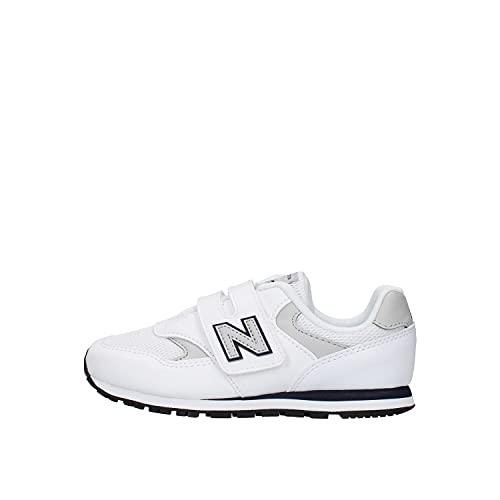New Balance 373 Zapatillas infantiles YV393CWN White Navy Blanco Size: 30.5 EU