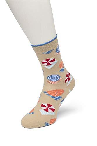 Bonnie Doon Damen Socken verschiedene Varianten 36/42 (Beachlife Dune)