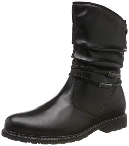Tamaris Damen 1-1-25049-23 Stiefeletten, Schwarz (Black 1), 39 EU