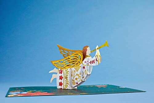 Lovepop Holiday Angel Pop Up Card - Pop Up Christmas Card, Greeting Cards, 3D Card, Christmas Angel Card, Pop Up Holiday Card, Christmas Card, Religious Christmas Card Photo #2