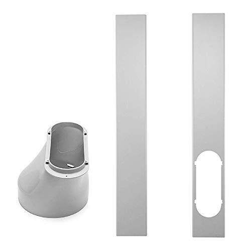 PINYUE Adattatore per finestre Accessori per condizionatori d'Aria Locali Adattatore per finestre e dispositivi Deflettore per climatizzatori mobili