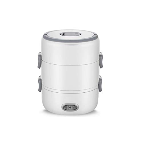 NXYJD Enchufable eléctrico de calefacción y de preservación del Calor Caliente de arroz automático de cocción eléctrica Calefacción Fiambrera